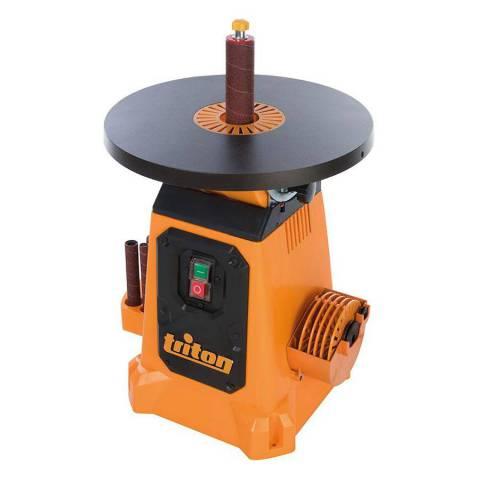 Ponceuse à cylindre oscillant avec plateau inclinable 380 mm