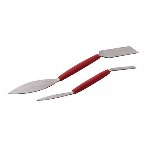 Lot de 2 spatules de stucateur