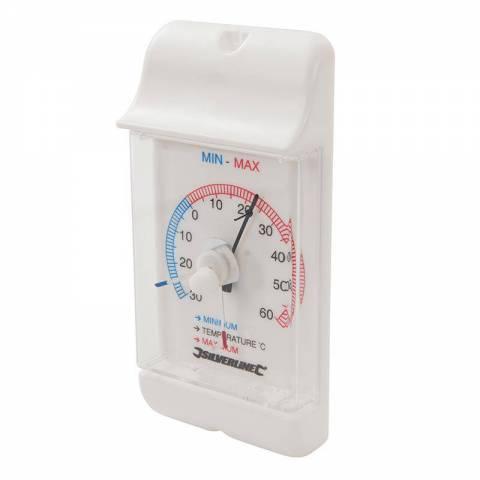 Thermomètre à cadran affichage min/max