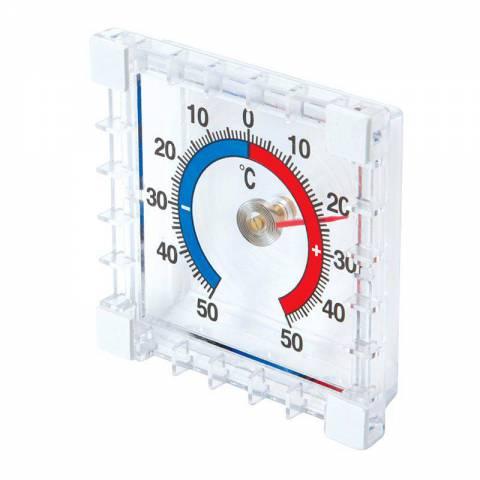 Thermomètre intérieur/extérieur à coller