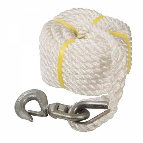 Corde à poulie manuelle avec crochet