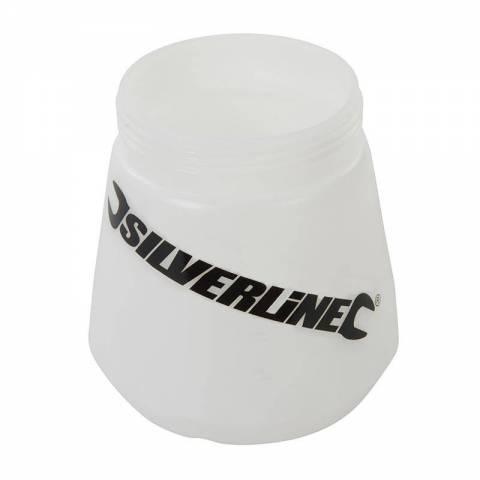 Réservoir transparent 700 ml pour pulvérisateur HVLP