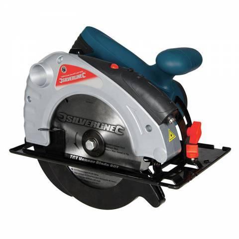 Scie circulaire 1 400 W avec guide laser