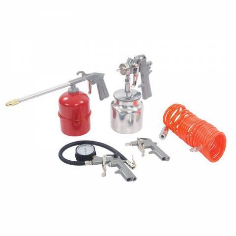 Coffret 5 accessoires pour outils pneumatiques