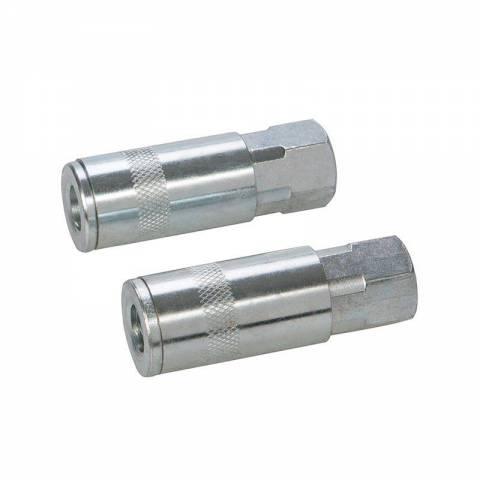 2 coupleurs rapides pour tuyau air comprimé