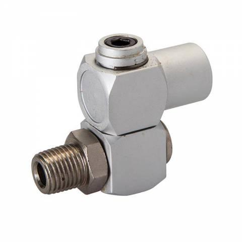 Connecteur joint articulé pour tuyau air comprimé