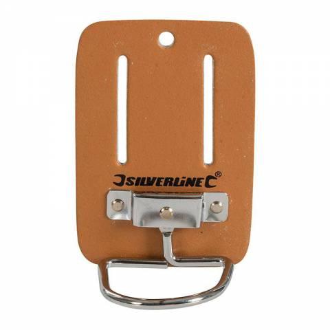 Porte-marteau en cuir pour ceinture