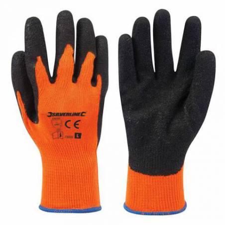 Gants haute visibilité orange