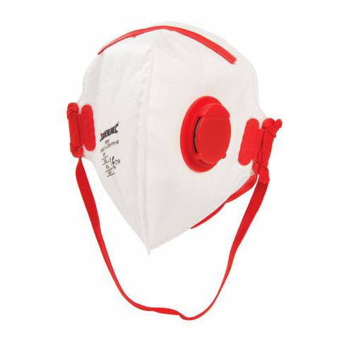 Masque respiratoire pliable à valve FFP3 NR