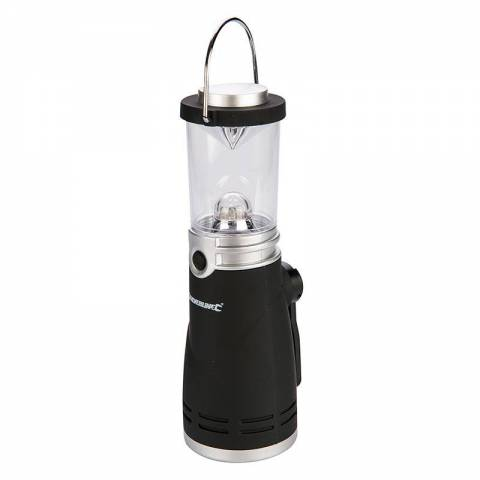Lampe-tempête à manivelle LED