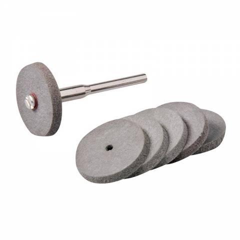Ensemble de disques à polir en caoutchouc pour outil rotatif 7 pcs