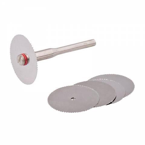 Ensemble de disques de coupe HSS pour outil rotatif