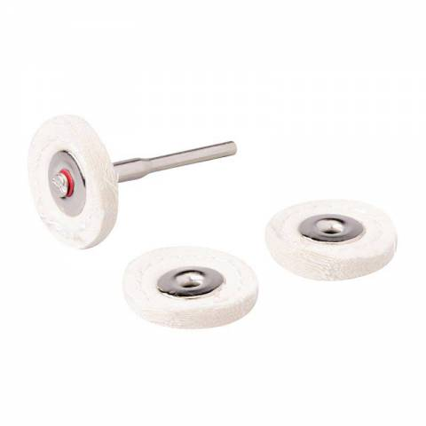 Ensemble de disques de polissage pour outil rotatif 4 pcs
