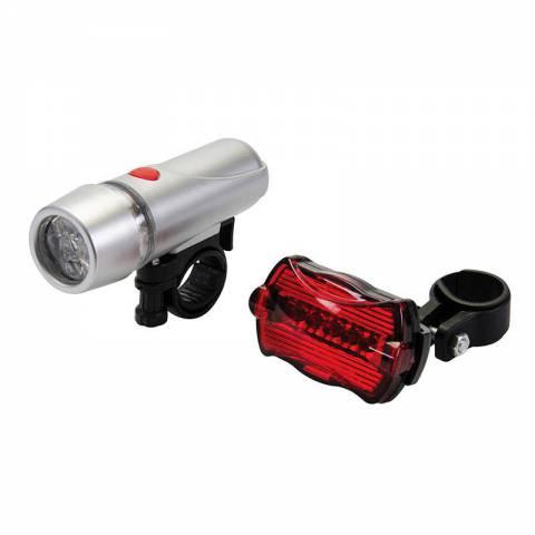 Lot de 2 lumières vélo 5 LED