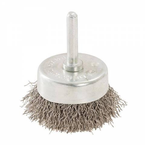 Brosse boisseau rotative en acier inoxydable