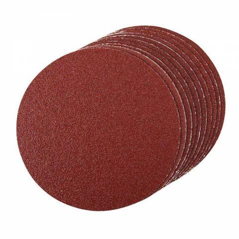 10 disques abrasifs autocollants de 150 mm
