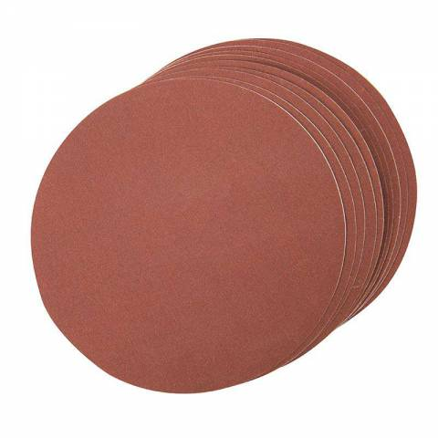 Lot de 10 disques abrasif autocollants 150 mm