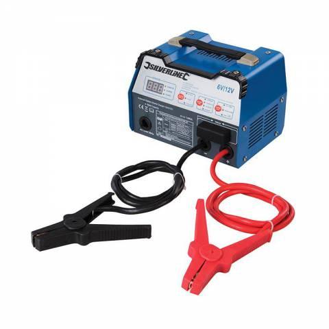 Chargeur de batterie automatique  12 A - 6 / 12 V