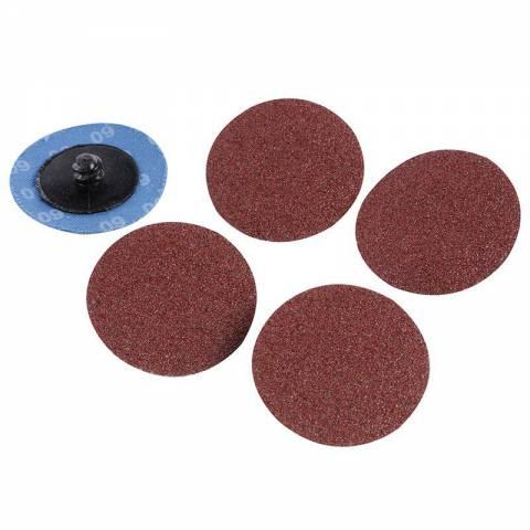 Kit 5 disques abrasifs à changement rapide 50 mm