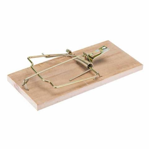 Piège à rat en bois dur