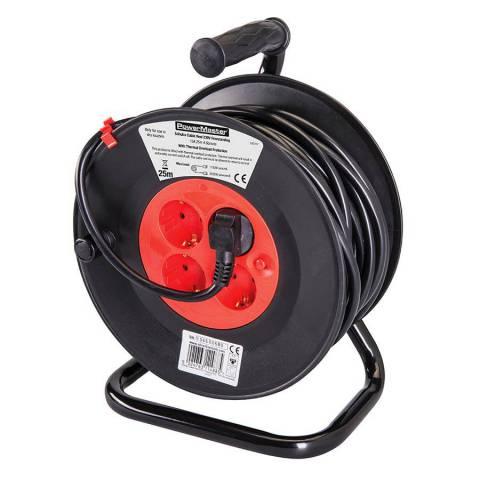 Enrouleur de câble électrique avec prises Schuko UE 230 V