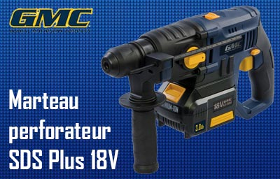 Marteau perforateur SDS Plus GMC