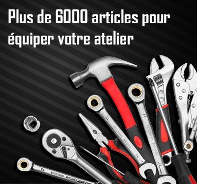 6000 outils pour votre atelier